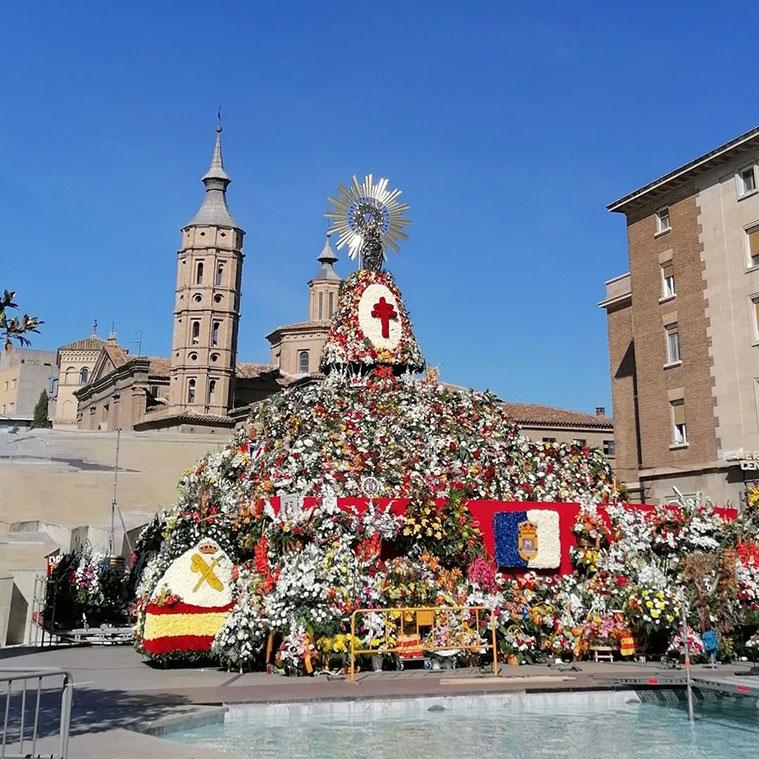 Ofrenda de Flores a la Virgen de Pilar 2021