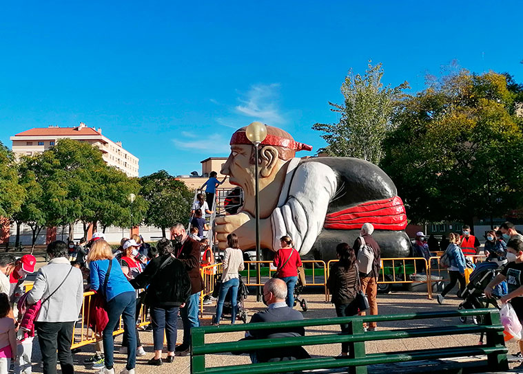 El Tragachicos en Fiestas del Pilar